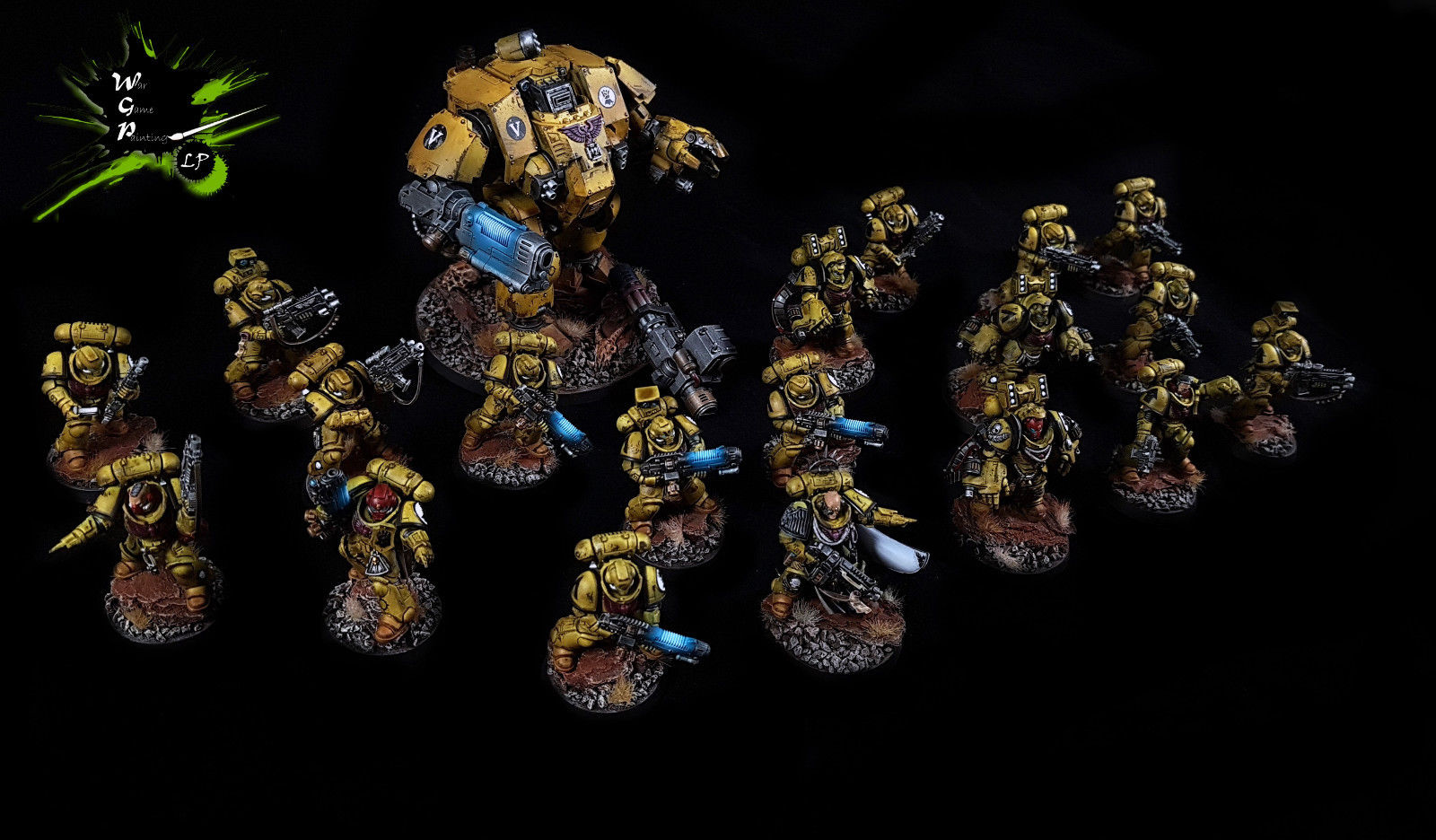 Imperial Fists Supremacy Force Warhammer 40K