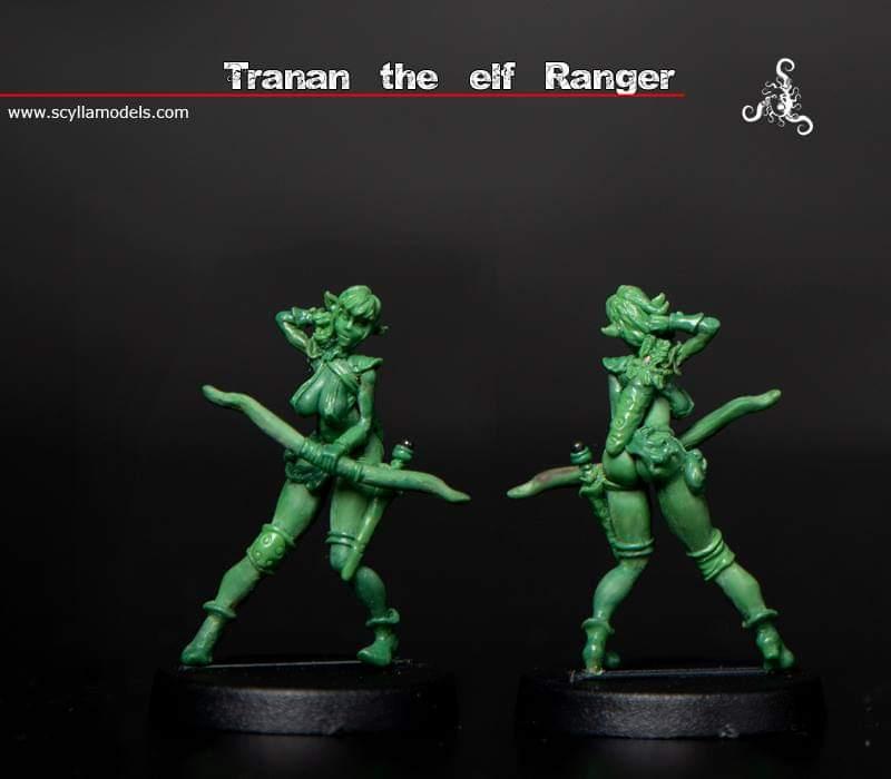 Tranan the elf ranger
