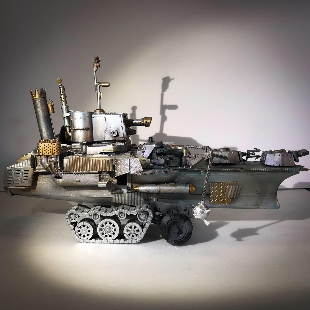 CoolMiniOrNot Ork kraft karrier used as mega grot tank by