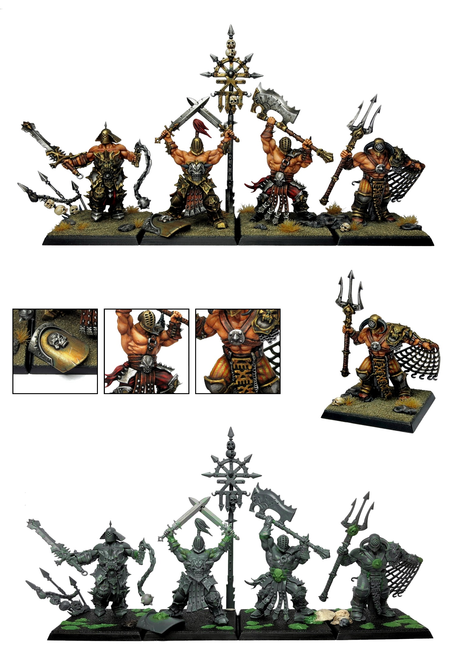 Khorne Bloodbound Skullreapers Chaos Gladiators Pitfighters