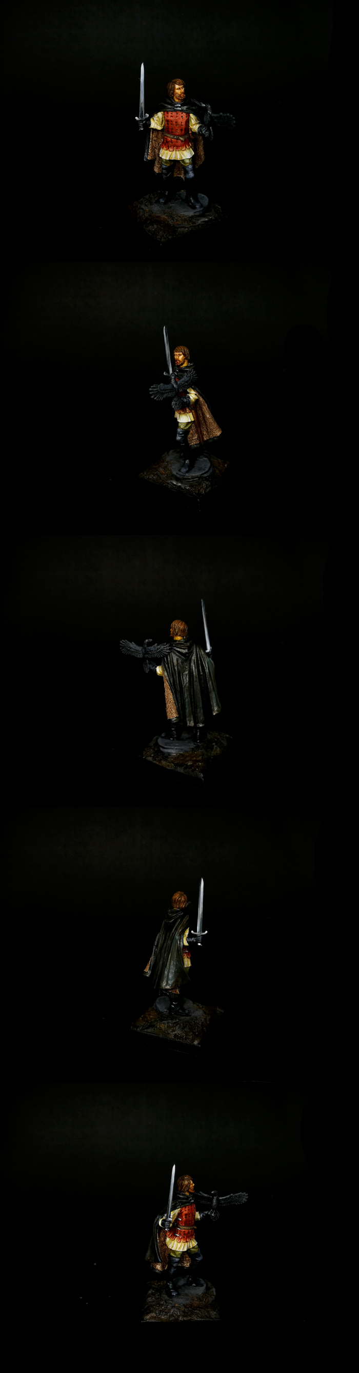Dark sword - Warrior with crow