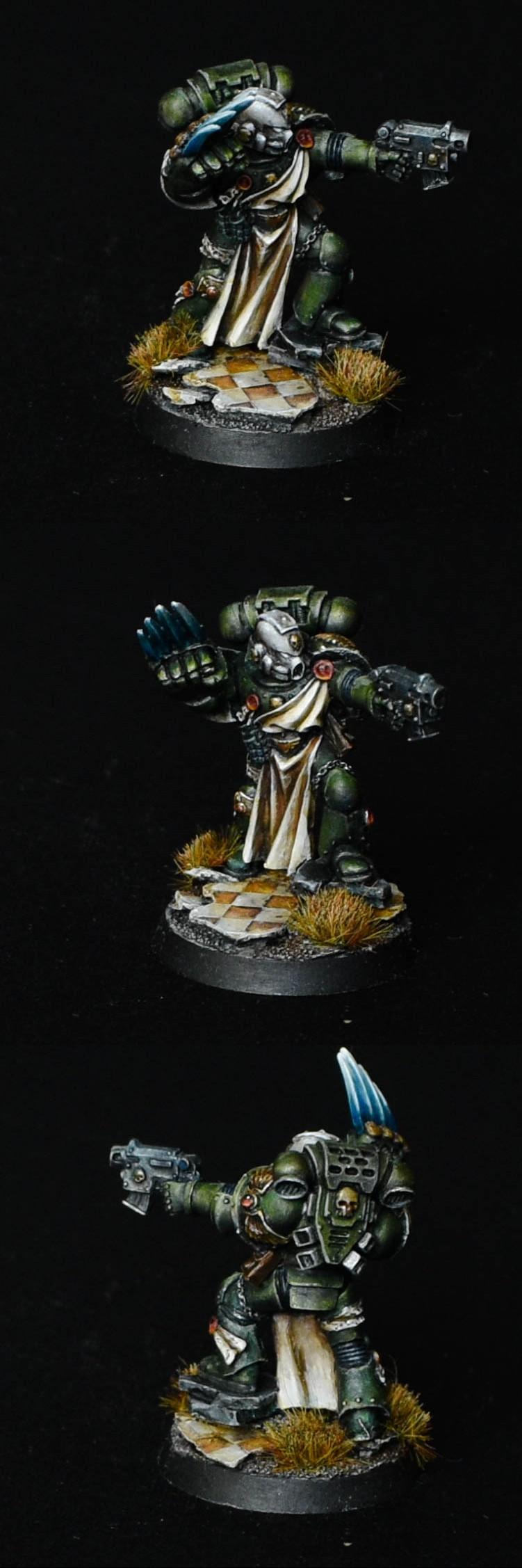 Space Marine Dark Angels Vanguard Veteran