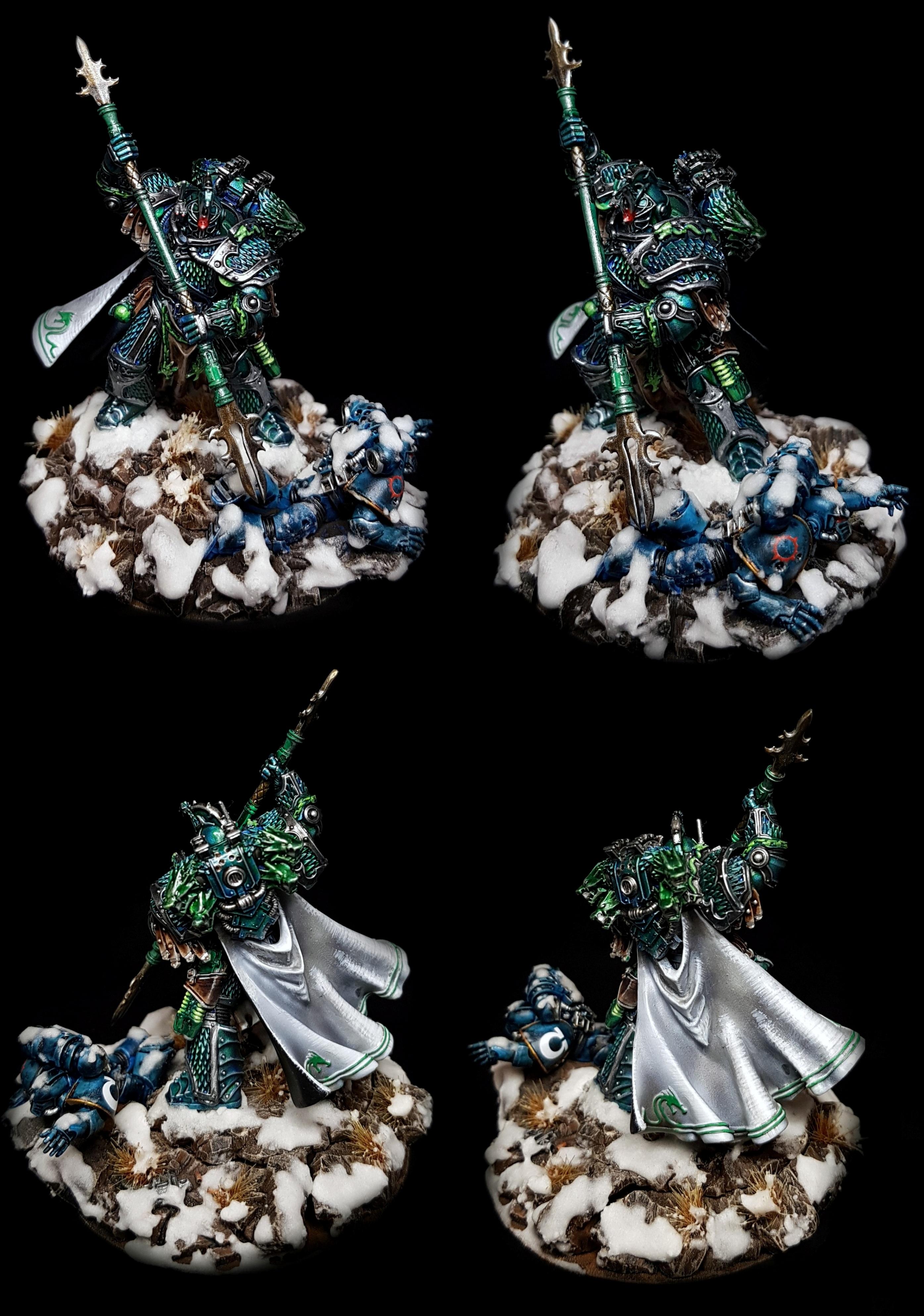 Alpharius Primarch of the Alpha Legion Warhammer