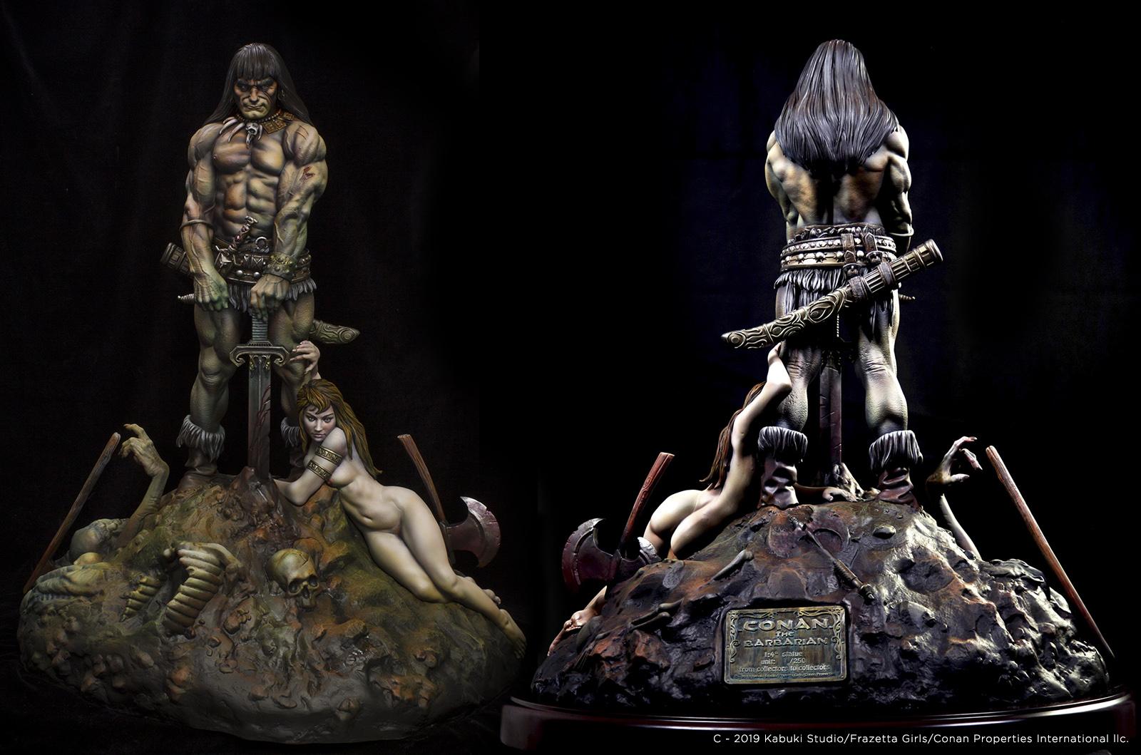 Conan The Barbarian - 1:4th scale premium statue