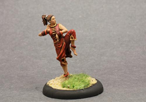 Bushido Kira Female Monk