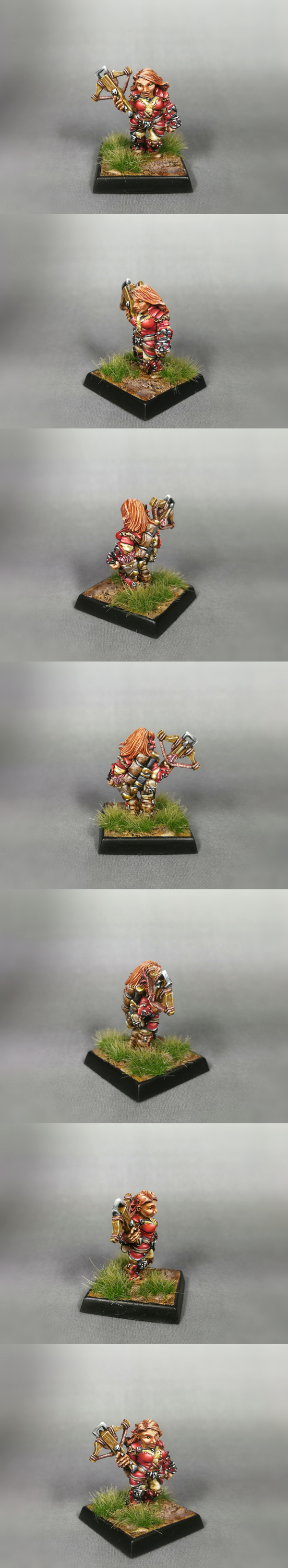 Reaper - Kara Foehunter, dwarf hero