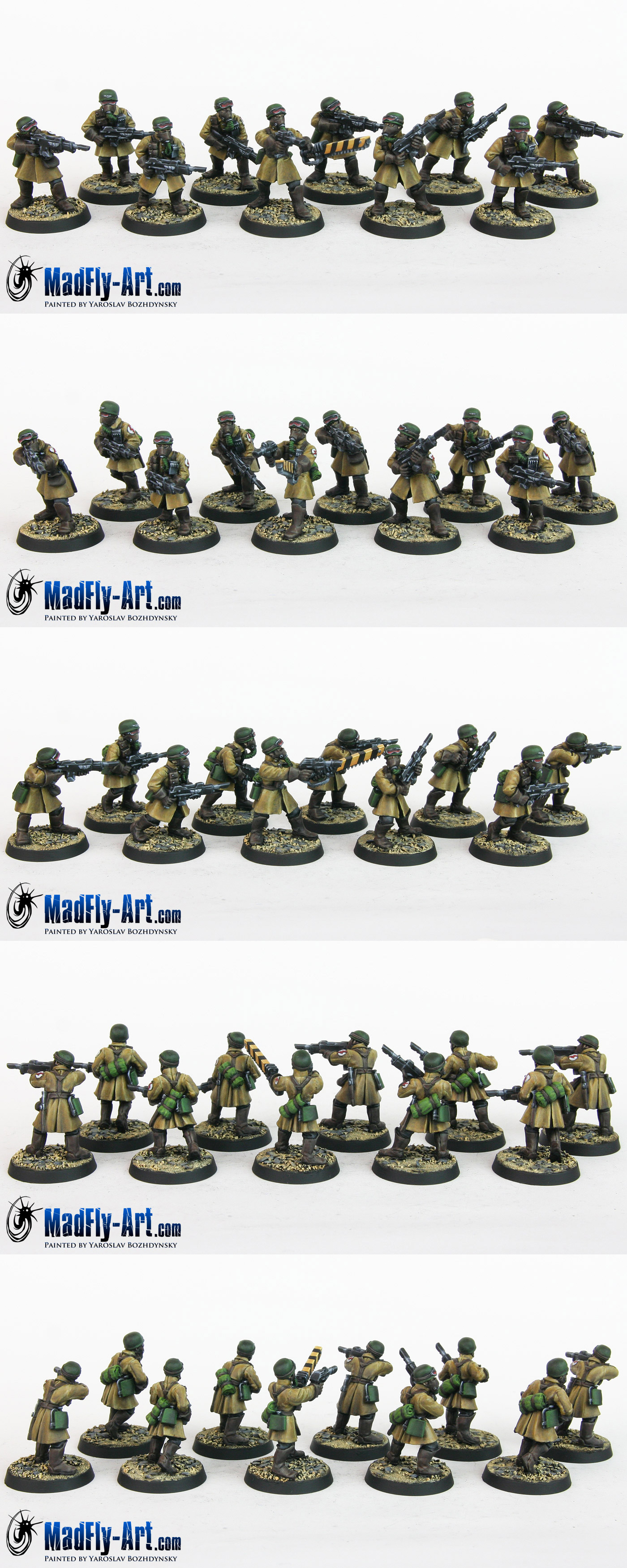 Steel Legion Infantry Squad 7