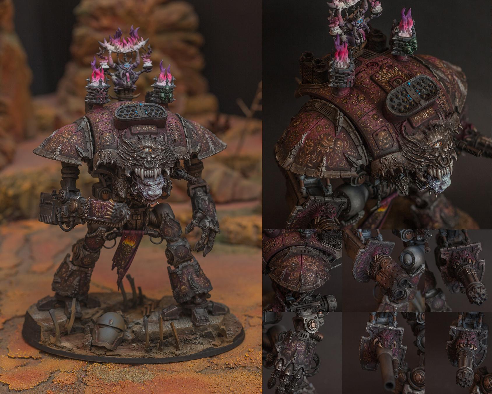 Word Bearers Chaos Renegade Knight