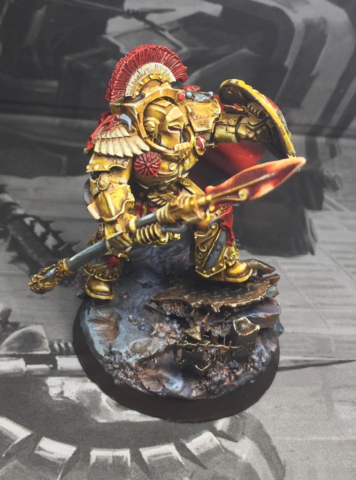 Space Marine master/legion praetor