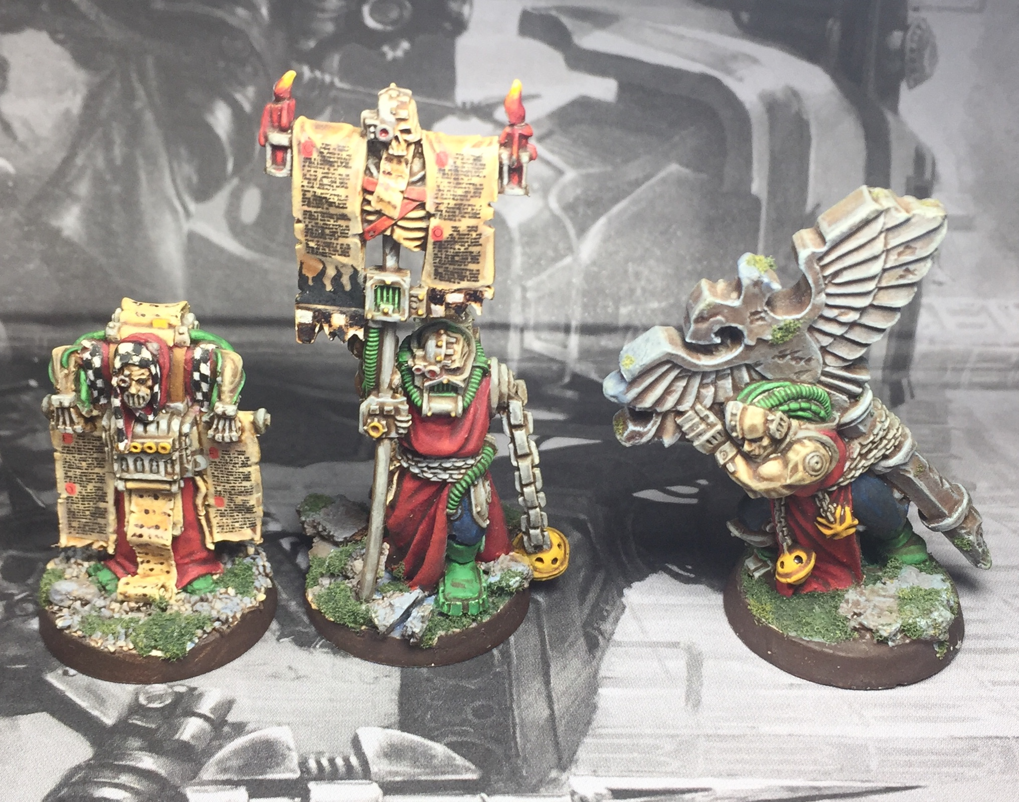 Inquisition acolytes oop