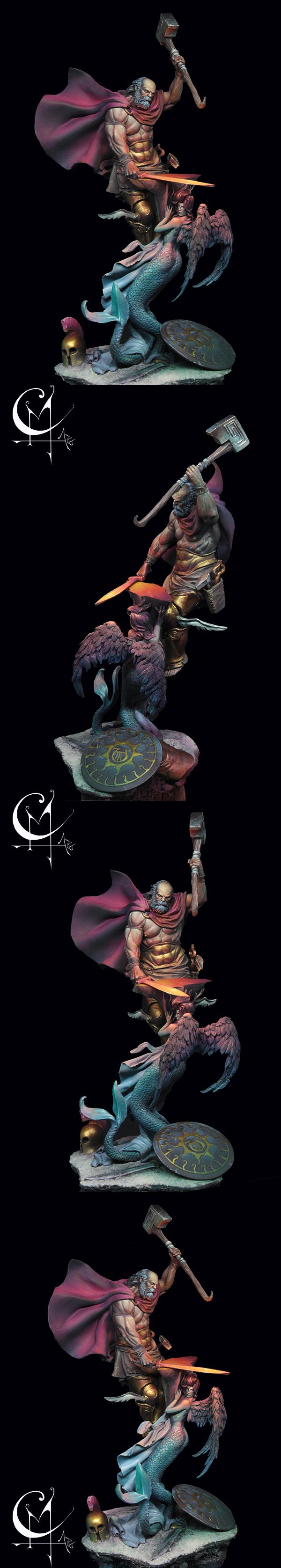 Hephaestus- the Blacksmith of the Olympus