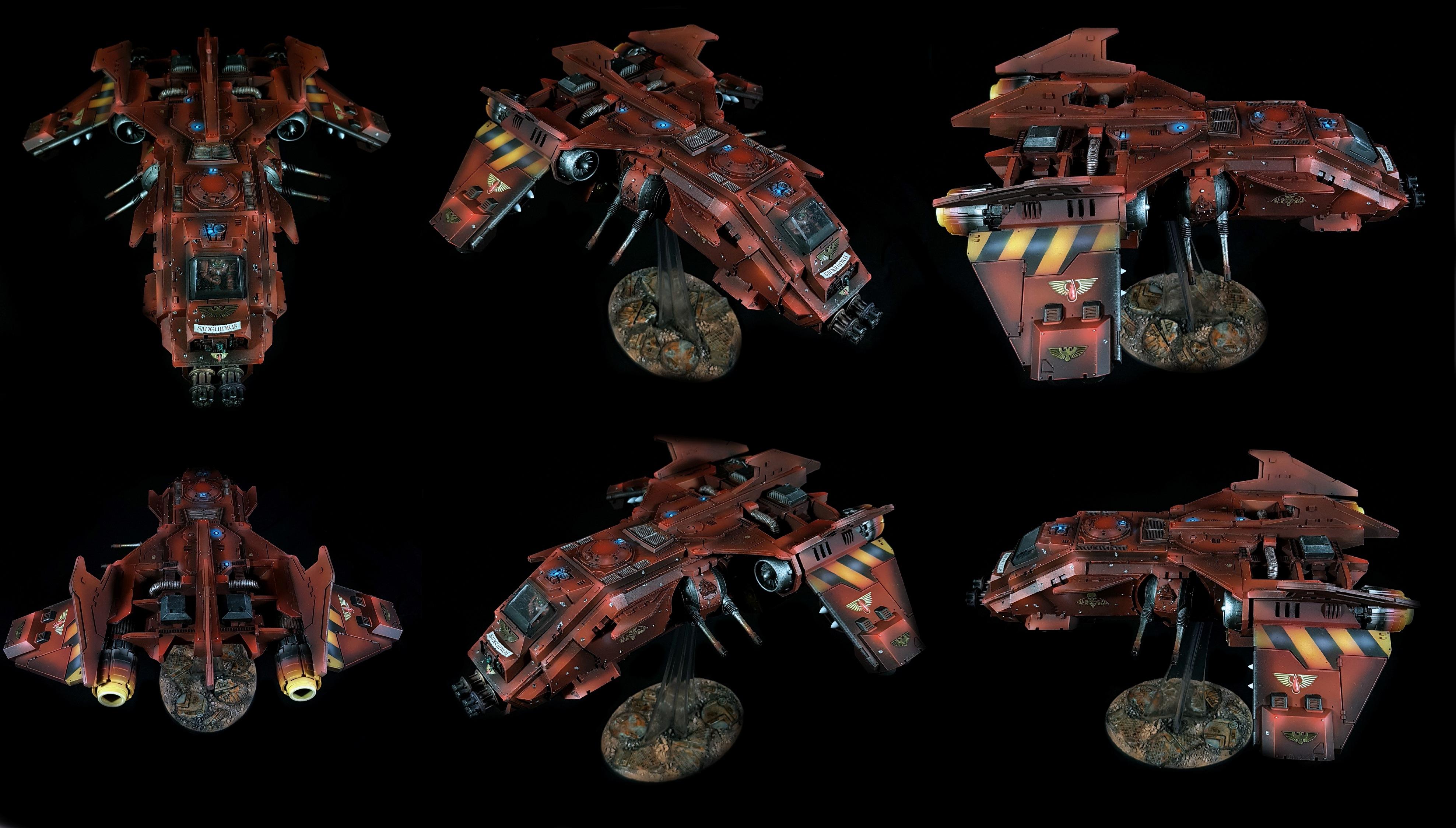 Fire Raptor Blood Angels Warhammer 40K