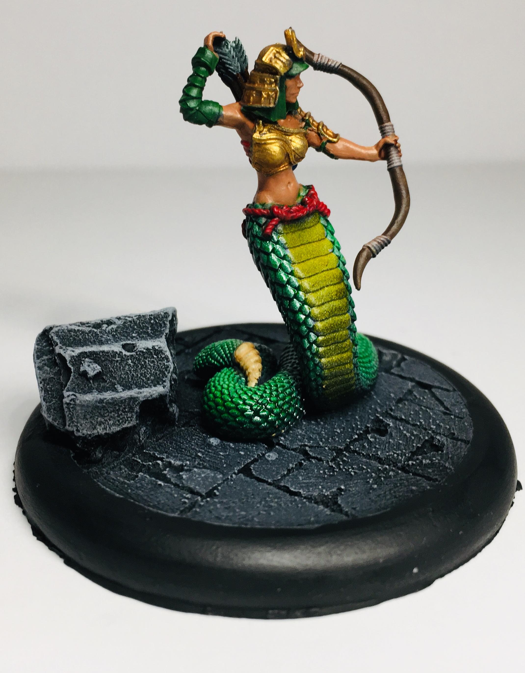 L5R Naga Huntress by Privateer Press