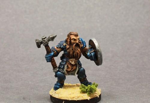 Bjorn,Dwarf Warrior