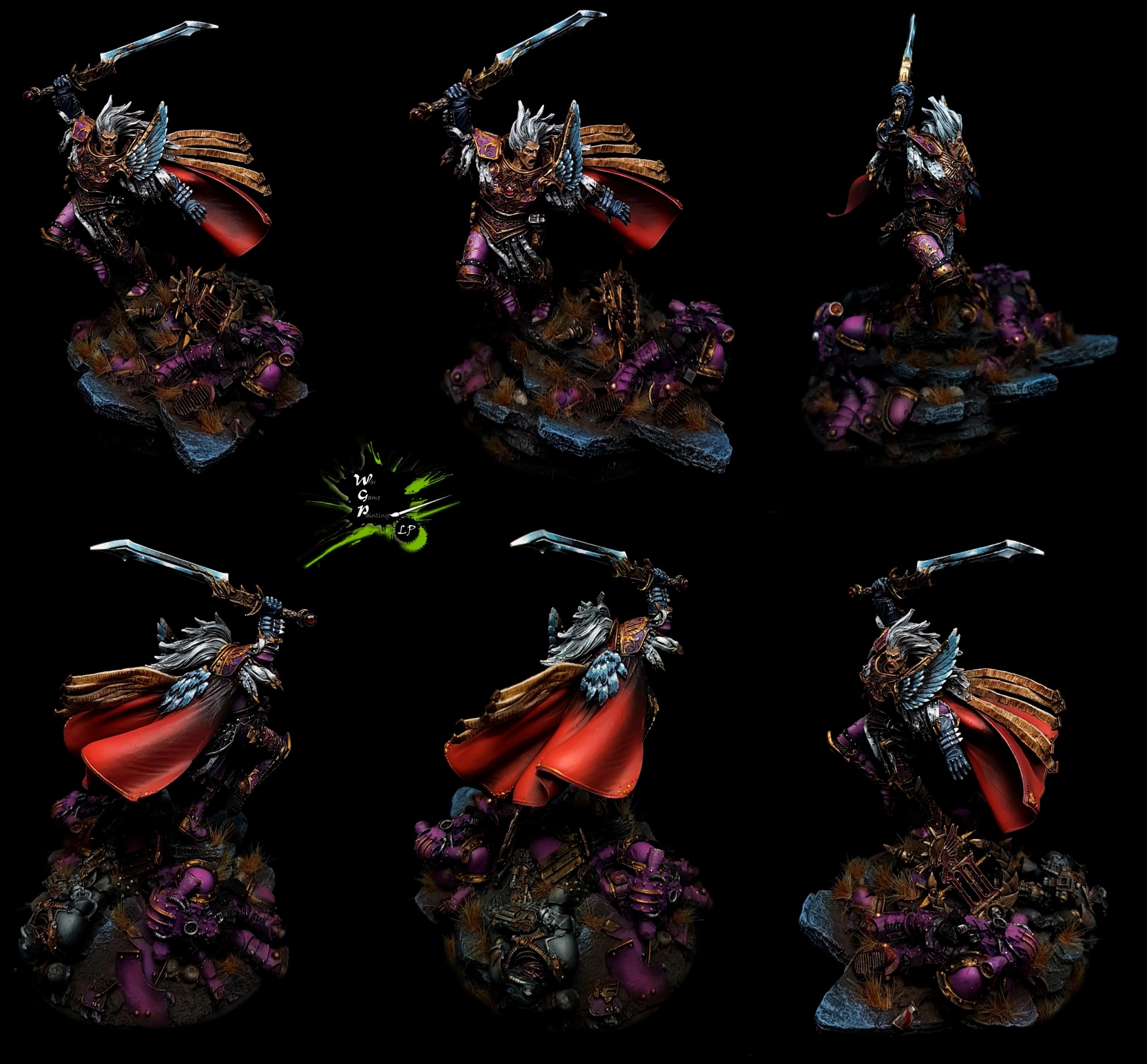 Fulgrim Primarch of the Emperor's Children Warhammer