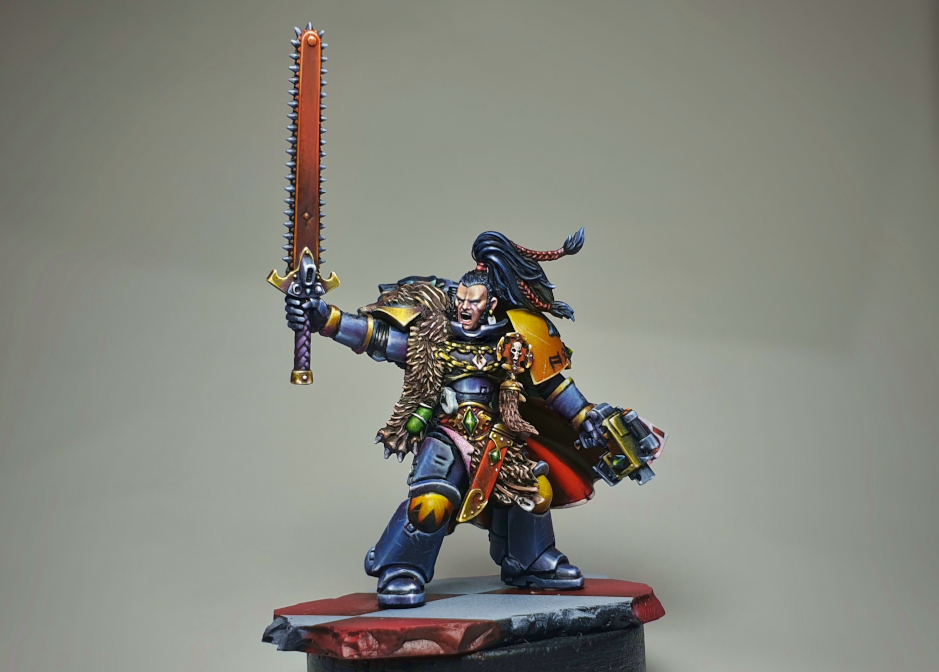Ragnar Blackmane Primaris Conversion