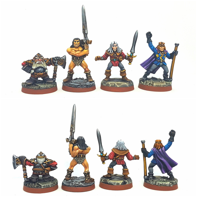Heroquest Heroes