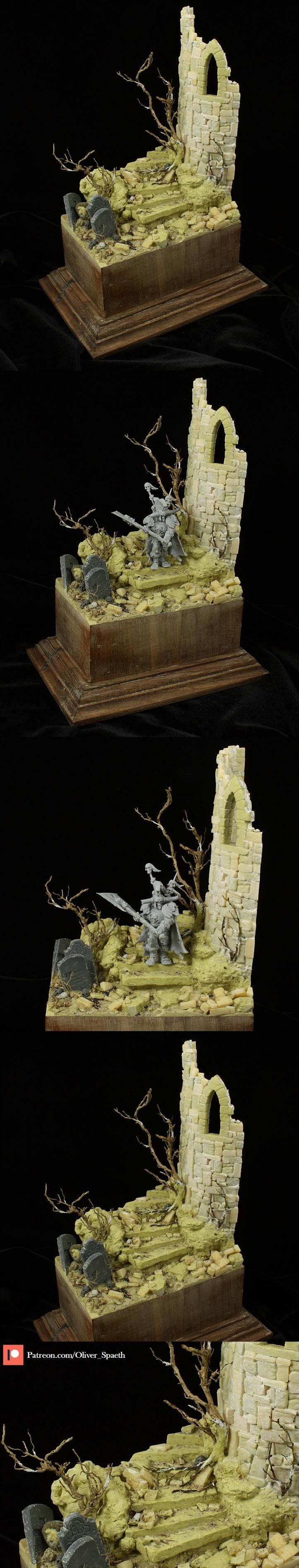 Ruin-Diorama - Sculpting