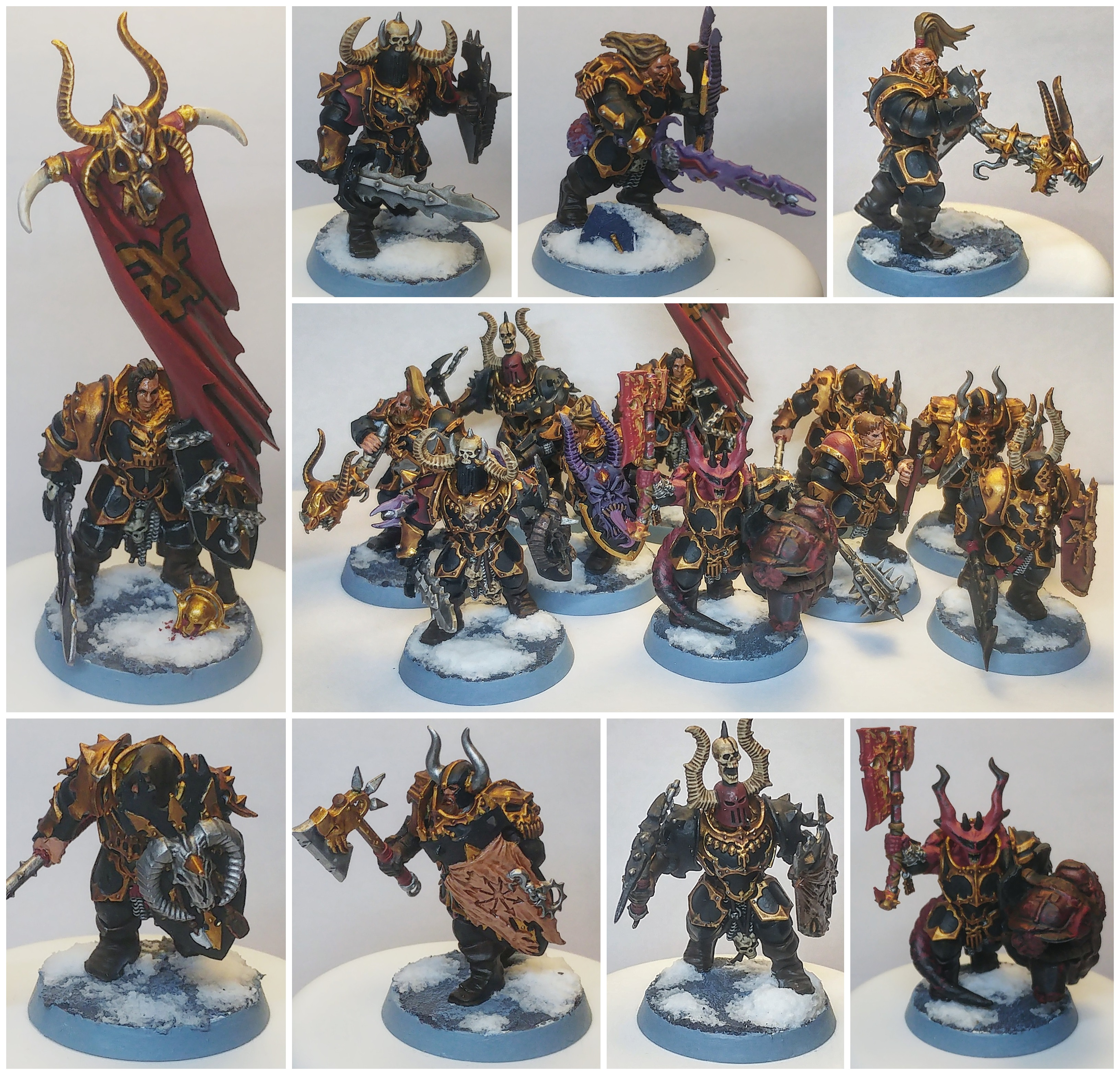 Khorne Chaos Warrior Unit (Converted)