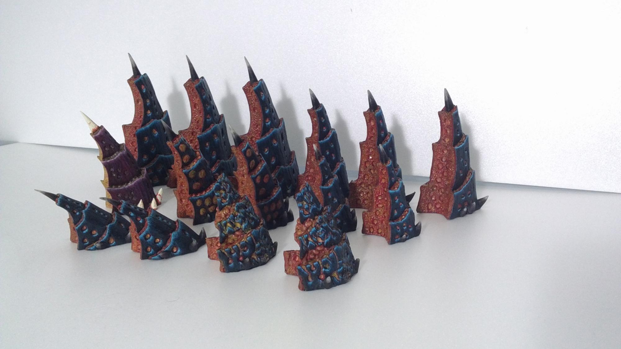Tyranid Spike Set