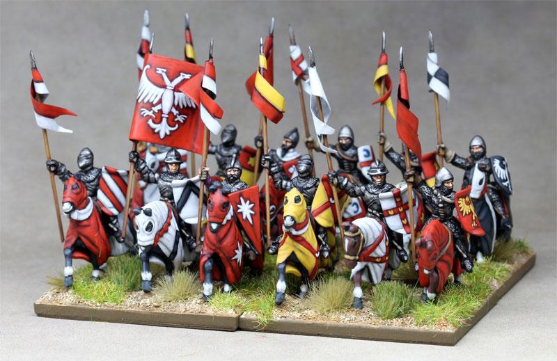 15mm Serbian Knights