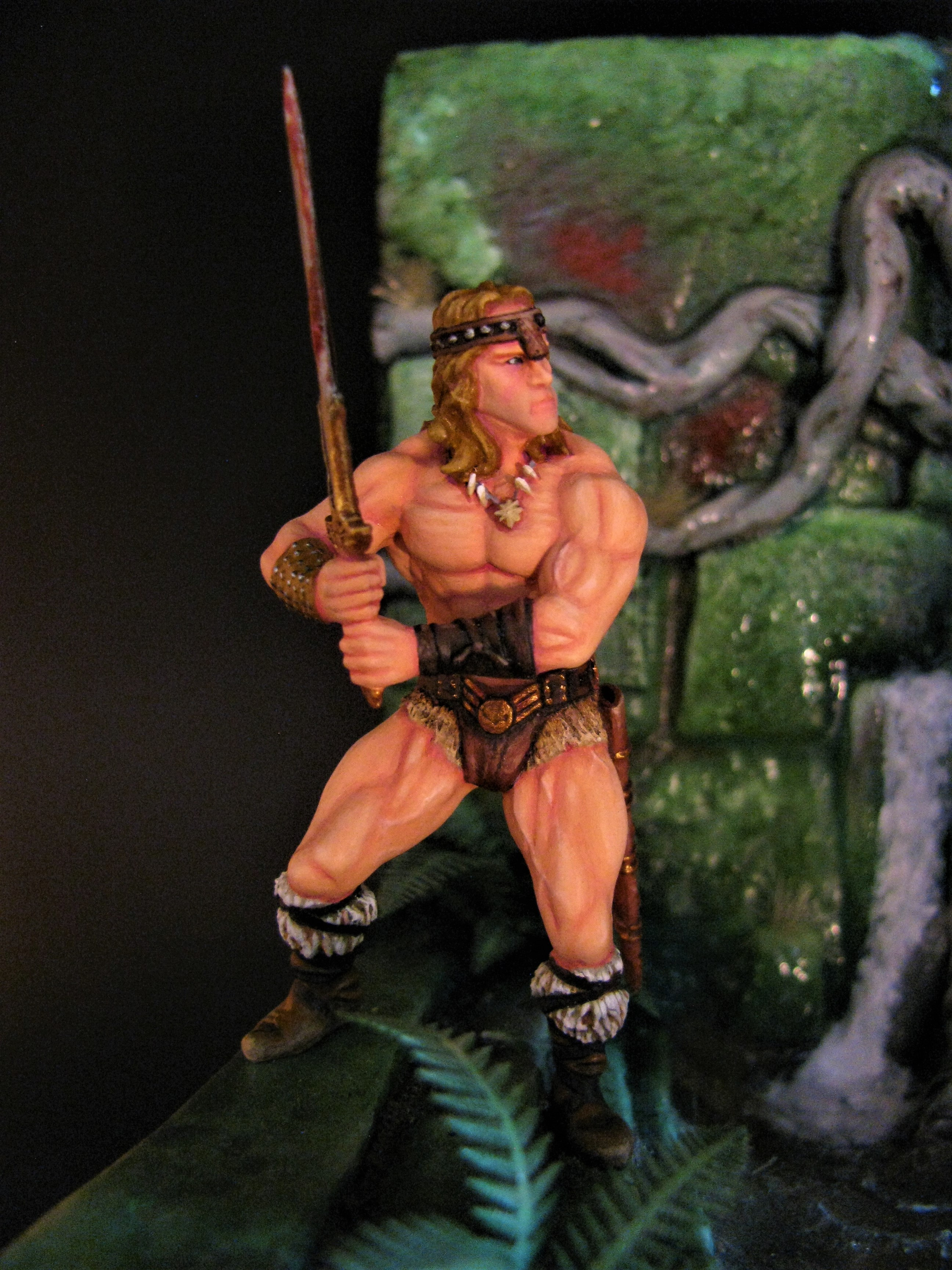 Conan the Destroyer Closeup