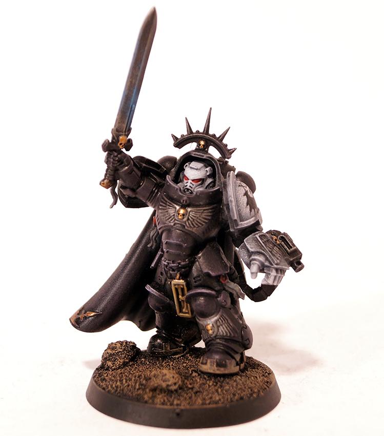 Raven Guard Captain in Gravis Armour