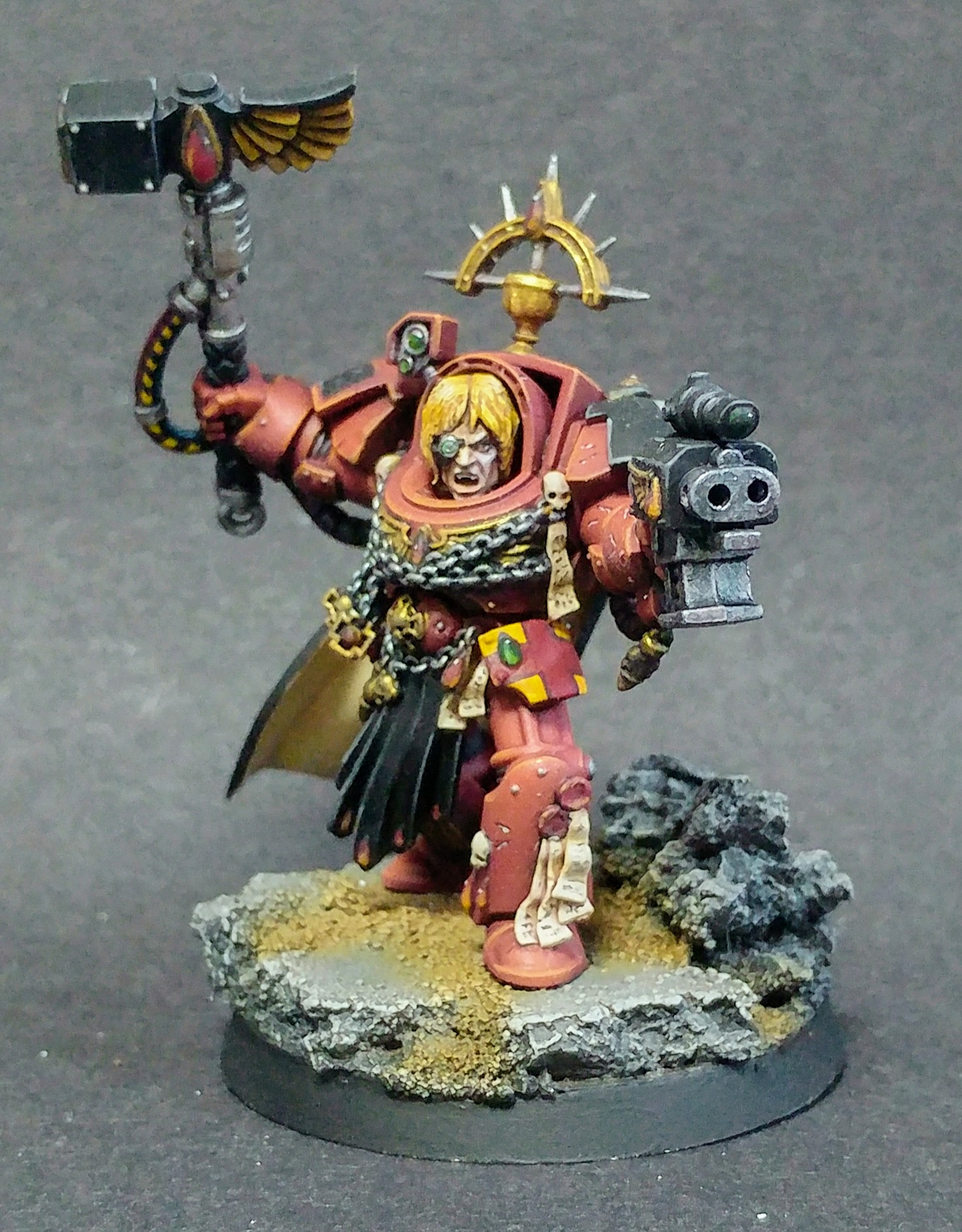 Blood Angel Captain in Terminator Armour