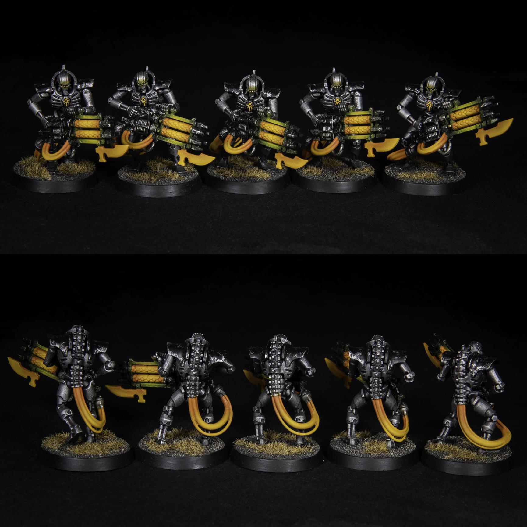 Warhammer 40K Necron Immortals Mephrit Dynasty