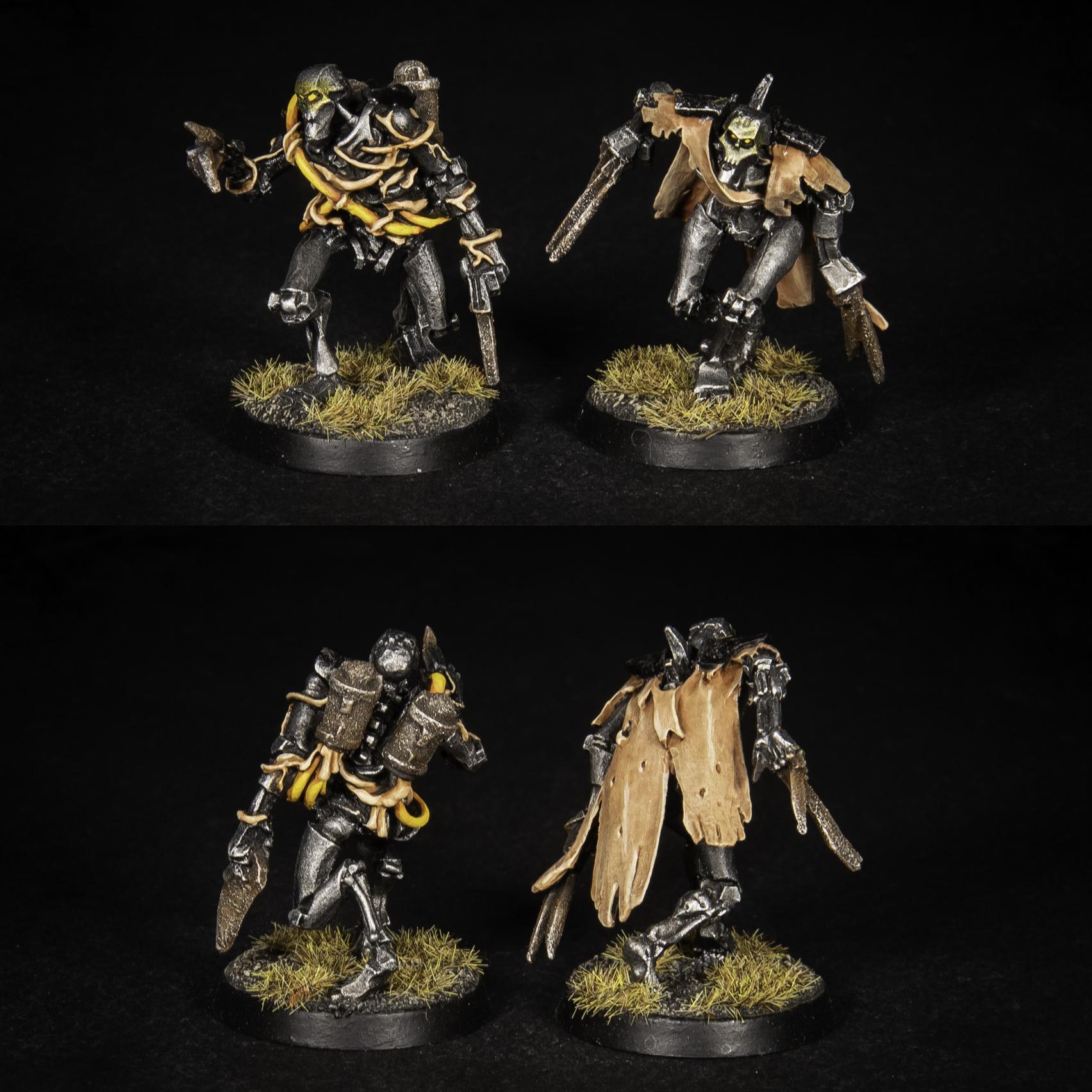 Warhammer 40K Necron Flayed Ones Mephrit Dynasty