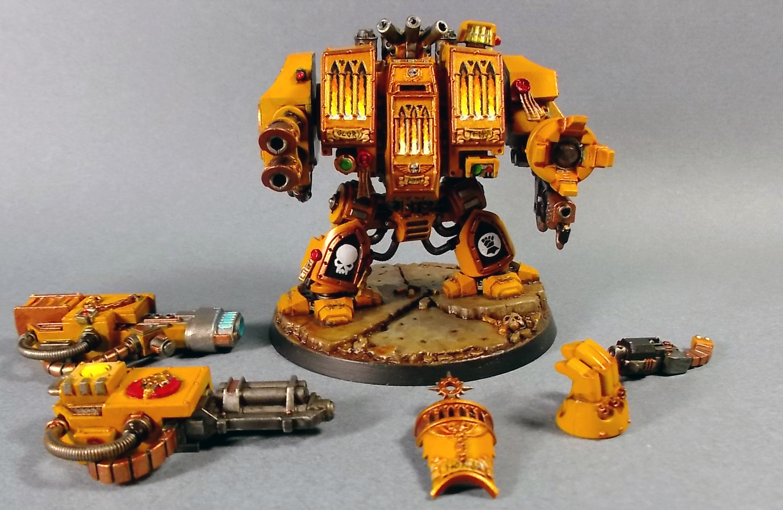 Venerable Dreadnought of the Imperial Fists