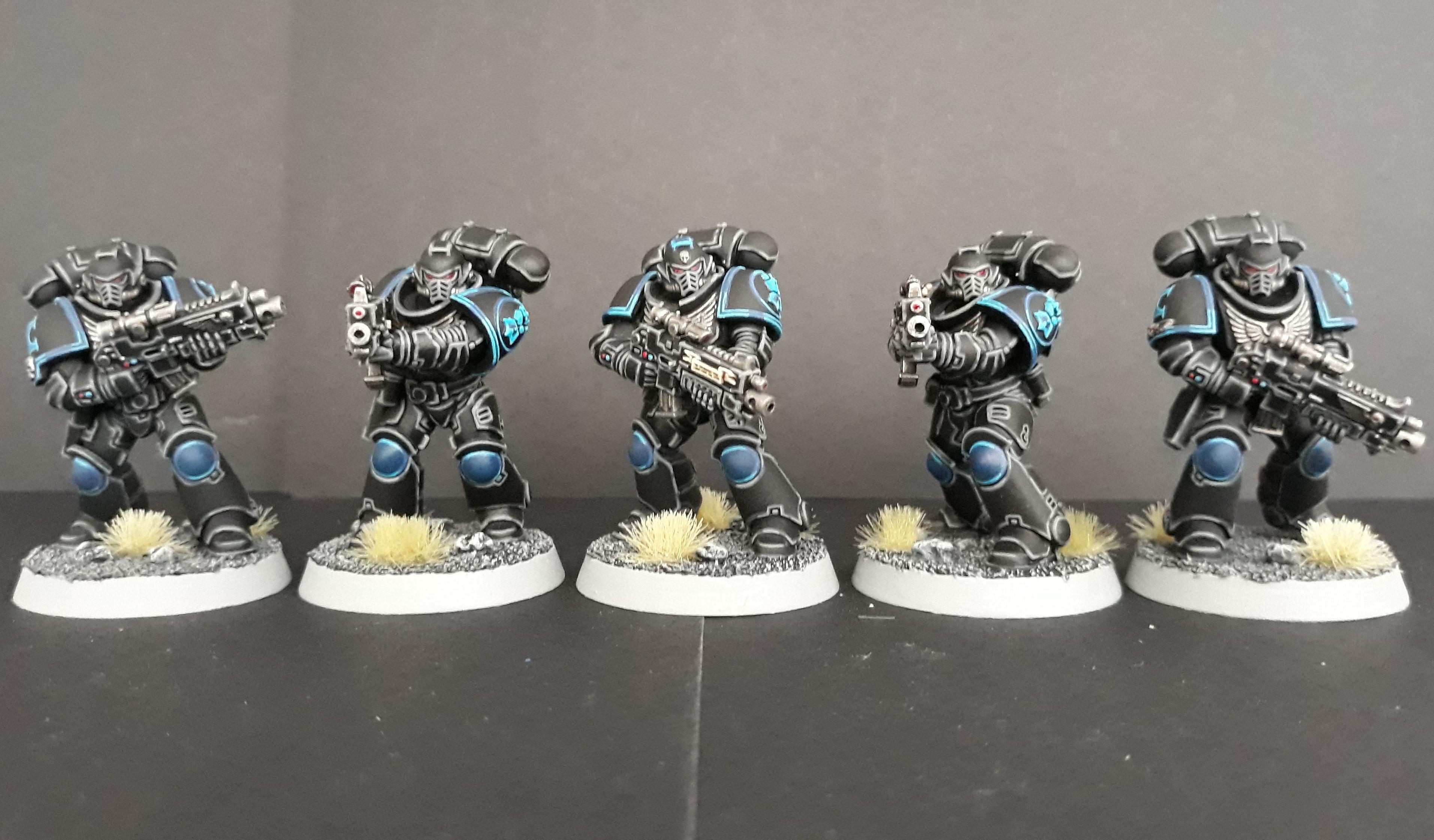 First Primaris squad