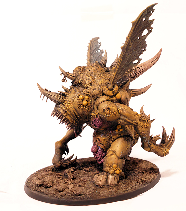 Nurgle Daemon Prince with Wings