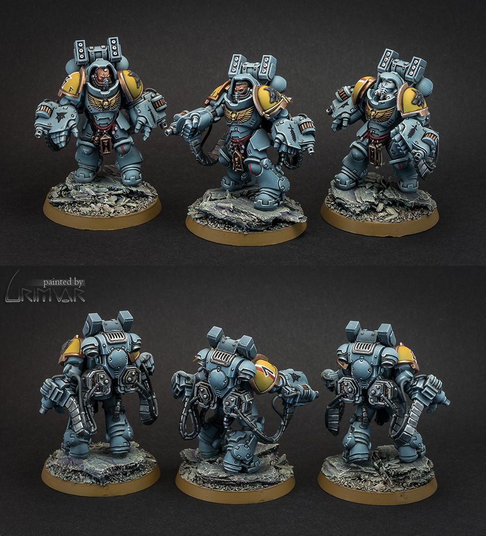 Space Wolves Aggressors