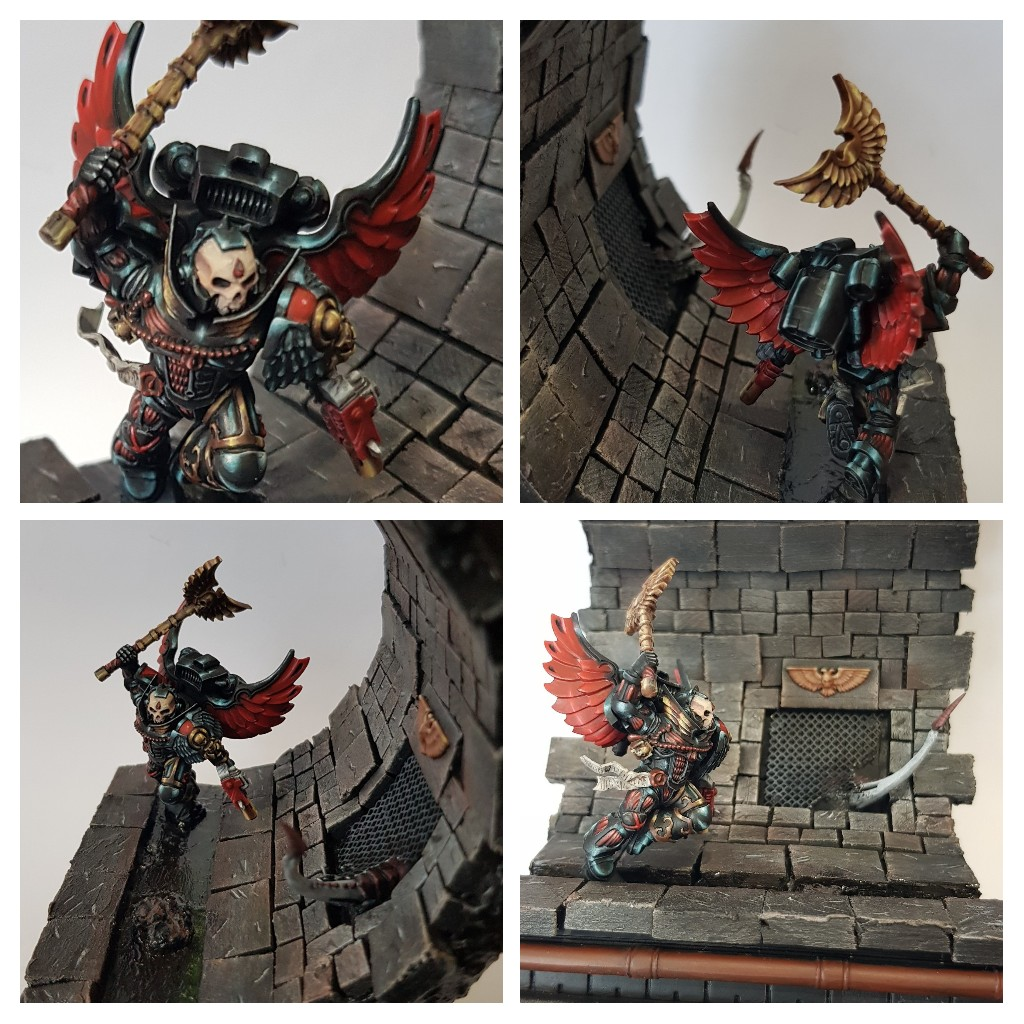 Chaplain with jump pack (Blood Angels)