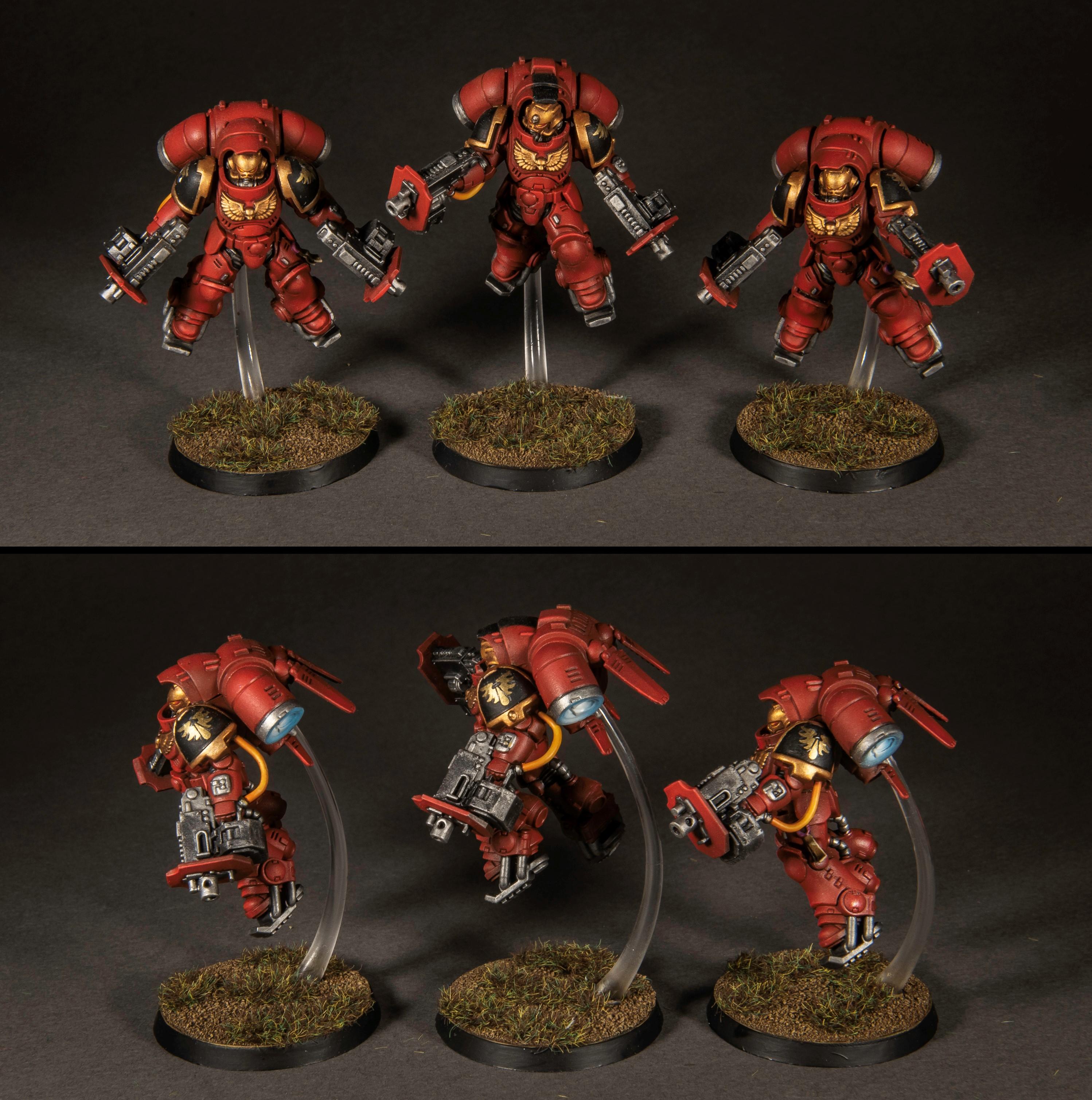 Warhammer 40k Blood Angels Primaris Inceptors