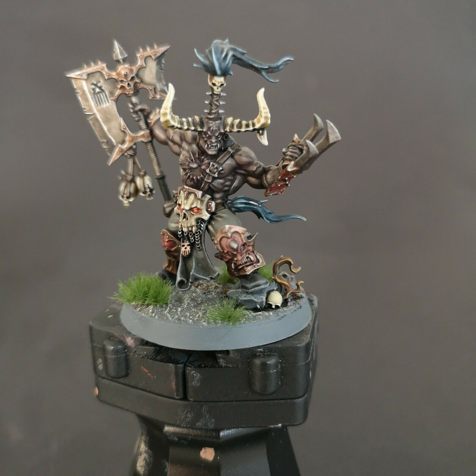 Exalted Deathbringer With Ruinous Axe