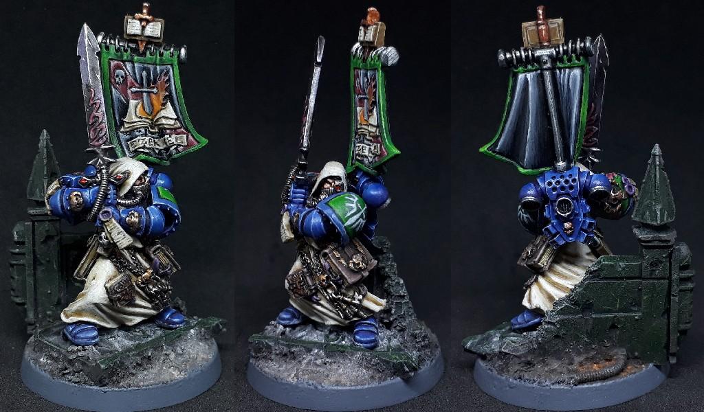 Ezekiel Chief Librarian of Dark Angels