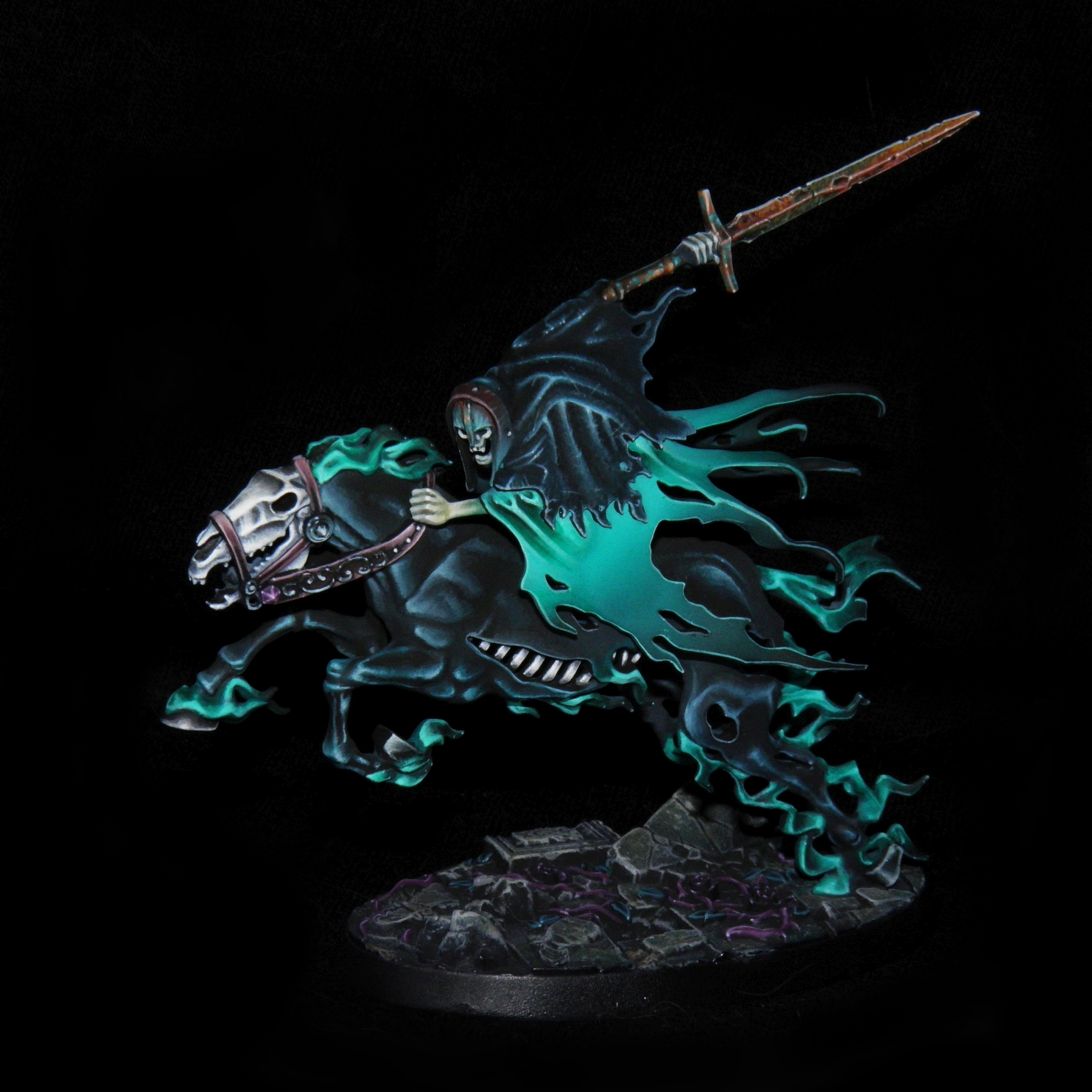 Nighthaunt Dreadblade Harrow (better quality)
