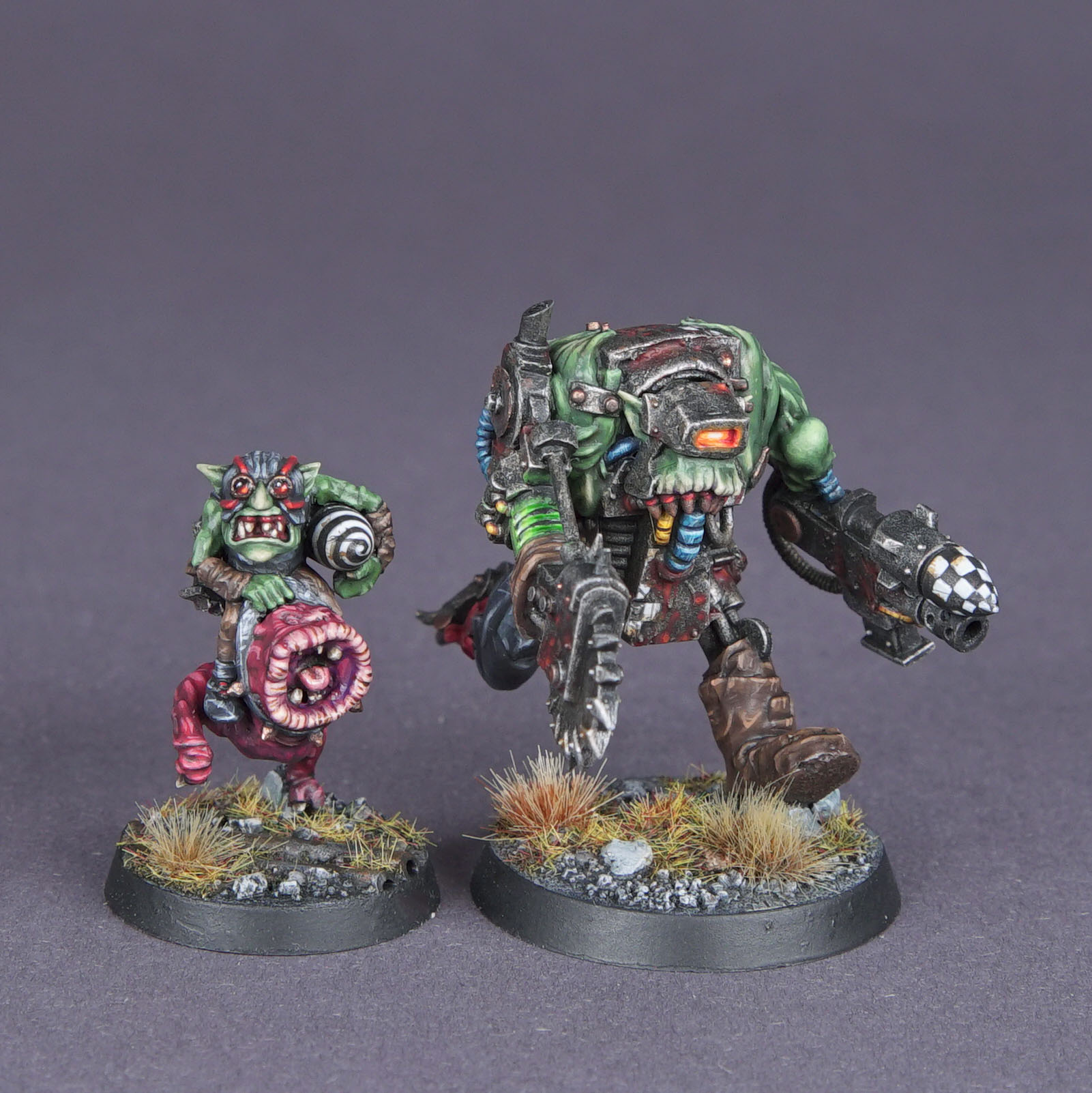 Nob with Cybork Body & Ammo Runt