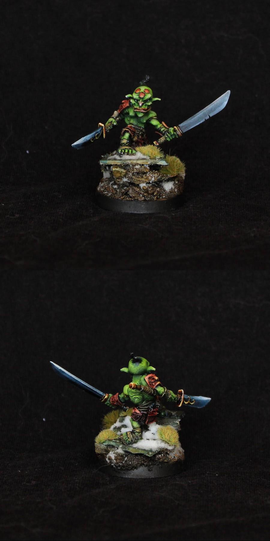 Ashigaru Goblins of No Dan Kar, Confrontation