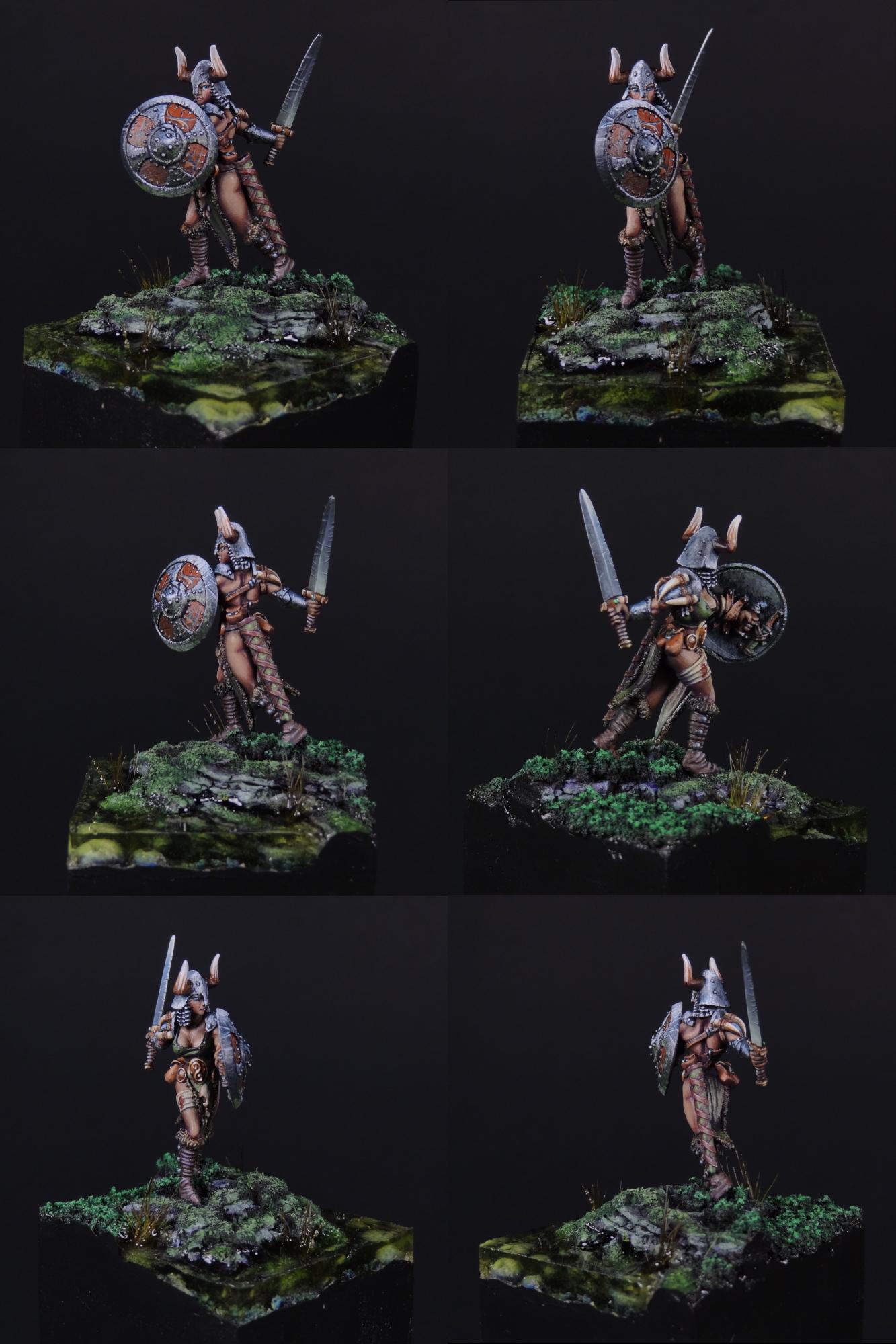 Alena Frostblade, Female Barbarian