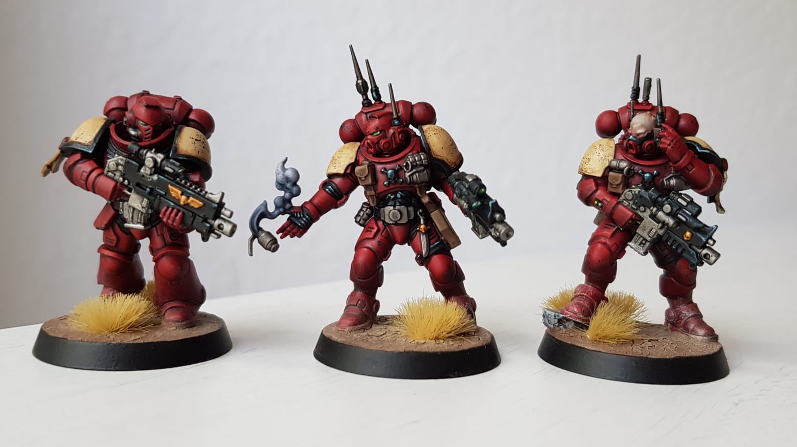Space Marine Blood Raven Kill Team