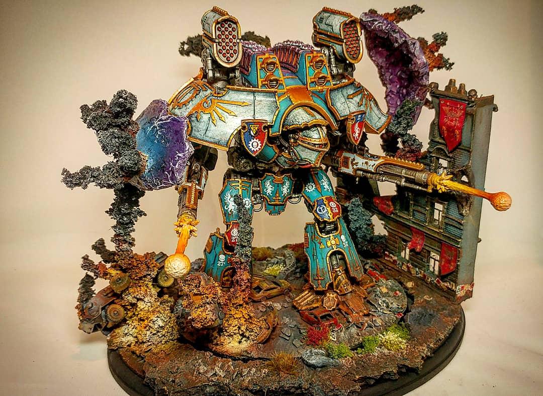 Warlord Titan - Titanicus - Scenic Base