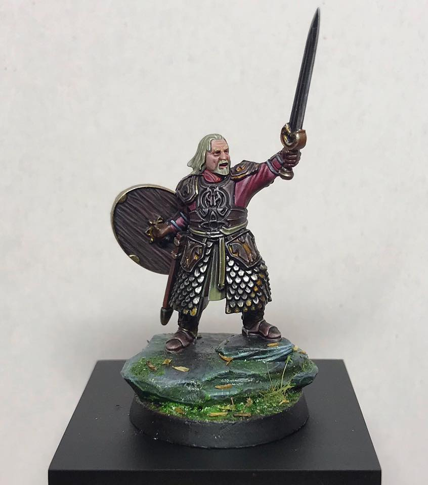 King of Rohan, Theoden, Lord of the Rings