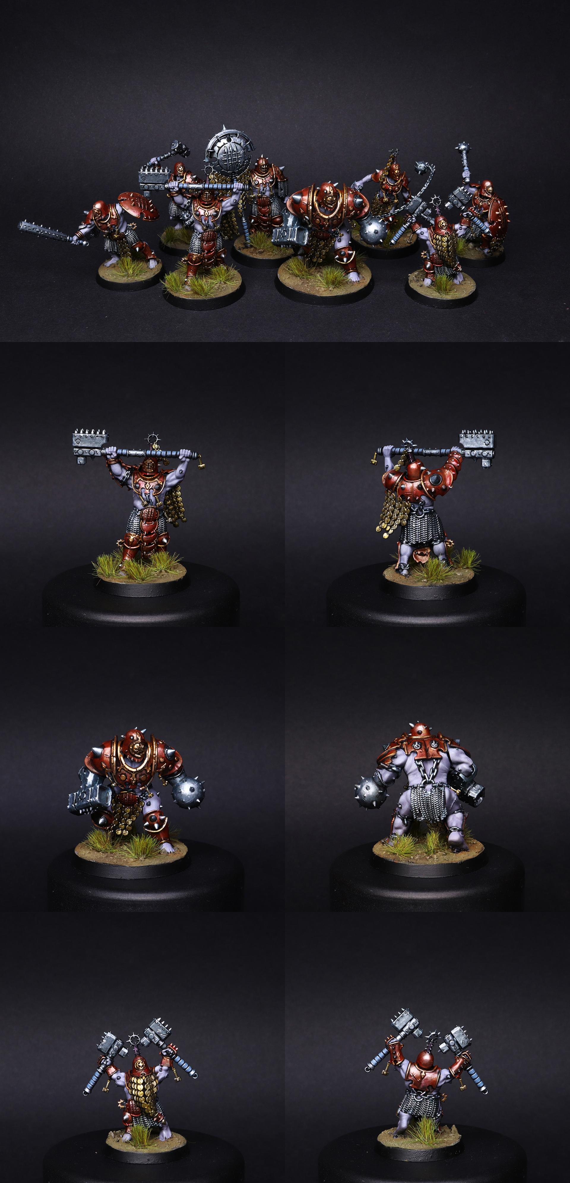 Iron Golem Warband Warcry