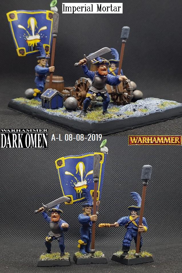 Warhammer Dark Omen Imperial Mortar