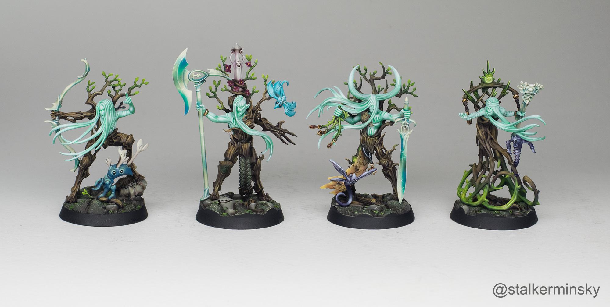 Warhammer Underworlds Ylthari's Guardians