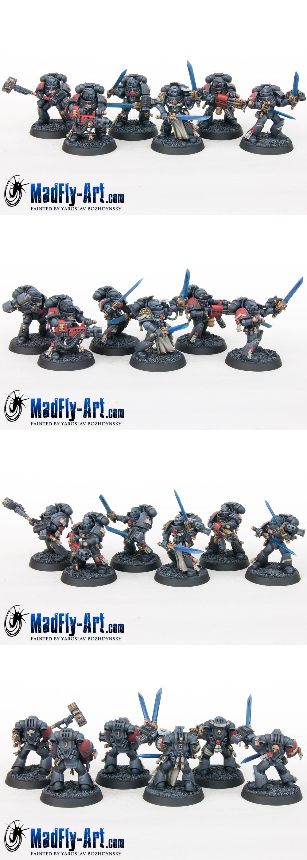 Grey Knights Strike Squad