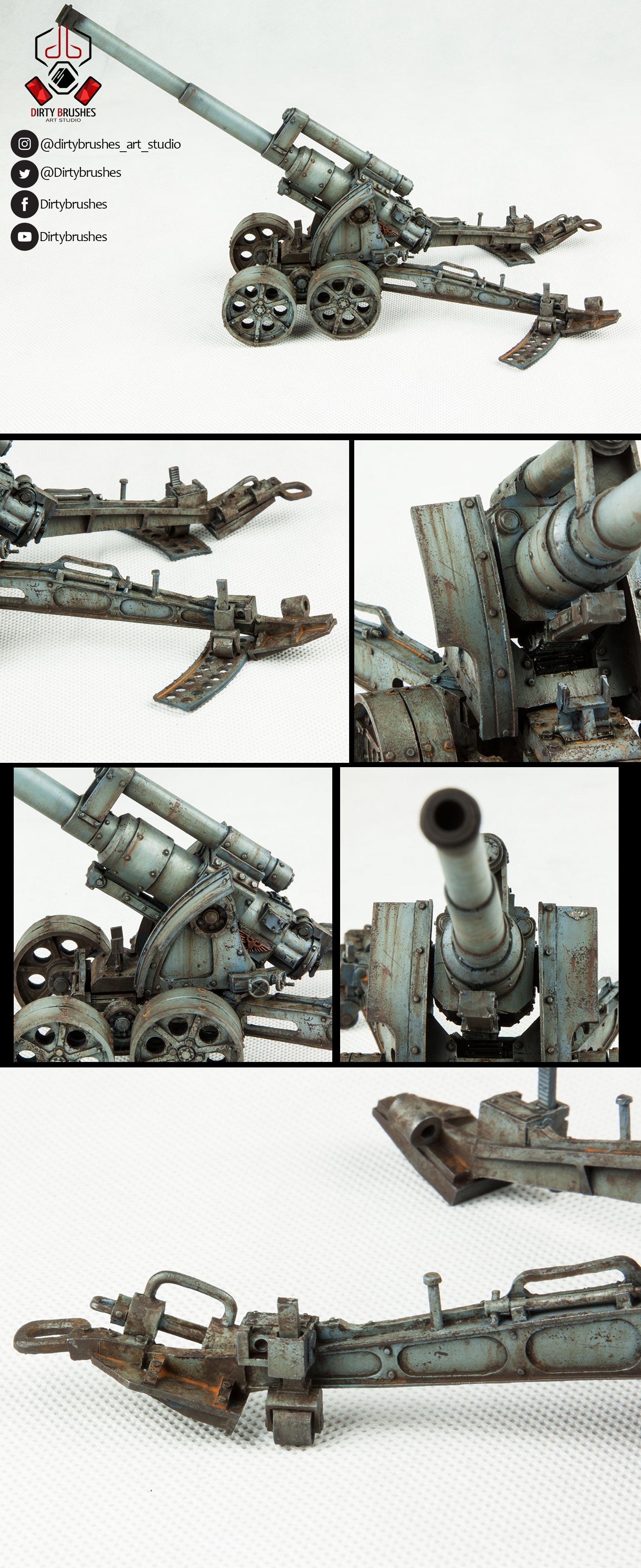 Death Korps of Krieg heavy artillery-Details